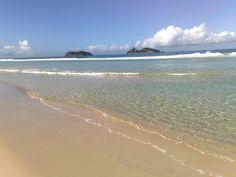 Praia da Barra da Tijuca - RJ - Ilhas Tijucas ao Fundo