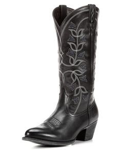 Women's Desert Holly Boot, Old West Black