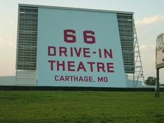 Missouri (Carthage)  A drive in movie theatre, just like in Grease - I hope they have something showing when I go by,