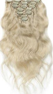 Clip in extension set blond #60 / 120 gram / 50 cm