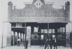 """Arizona Club"""" was one of the first in Las Vegas gaming clubs to actively promote themselves."""