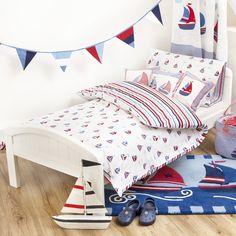 JojoMamanBebe Nautical Bunting/WallStickers/Bedding/Cushions/Rug Www. Jojomamanbebe.co