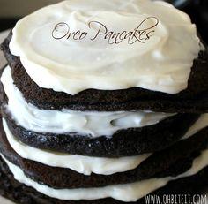 ~Oreo Pancakes!
