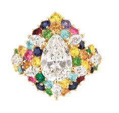 仏・パリ市内のグランパレで9月11日から21日まで開催の世界最大の国際アンティーク展示会「パリビエンナーレアンティーク」で展示される「クリスチャン ディオール(Christian Dior)」のジュエリー。(c)Christian Dior ▼12Jun2014AFP|世界最大の国際アンティーク展示会が9月に仏・パリで開催、アンティークの魅力とは? http://www.afpbb.com/articles/-/3017490