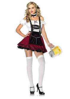 BEER STEIN BEAUTY ADULT COSTUME - 248620