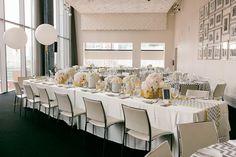 Стильная свадьба в серо-жёлтой палитре