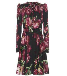 Dolce & Gabbana - Printed silk dress - Dolce & Gabbana's romantic floral…