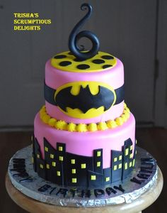 batgirl cake - Google Search