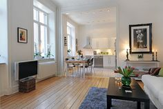 Loveliest of Swedish Apartments with Naturalist and Clean Design (18 photos) - wave avenue