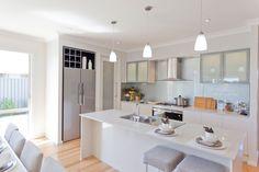 fridge space and pantry - thinner benchtops dont look as nice1 5110 Alpine Mist™ - McDonald Jones Homes
