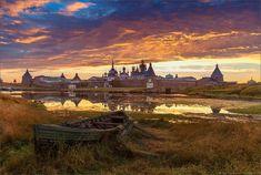 Соловецкий монастырь Русской Православной Церкви. - Путешествуем вместе