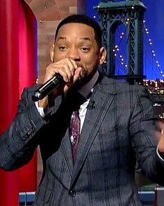 "Will Smith Raps ""Gettin' Jiggy Wit It"" on Late Show: Watch! - Us Weekly"