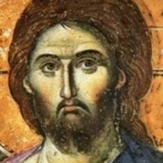 Christos Pantokrator by Manuel Panselinos c. Jesus Painting, Mural Painting, Mural Art, Tempera, Catholic Hymns, Christ Pantocrator, Byzantine Art, Holy Mary, Religious Icons