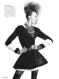 Magdalena Frackowiak by Sofia & Mauro for Numero Magazine Oct 2013
