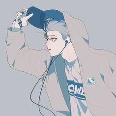 What anime is he from Manga Anime, Manga Boy, Anime Boys, Korean Anime, Korean Art, Anime Cosplay, Character Inspiration, Character Art, Animation 3d