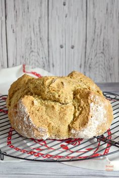 Pan de Soda Irlandés. Soda Bread - 2 Bread Slices