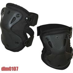 Russian-Army-Military-Tactical-Knee-Pad-Protection-SPLAV-X-FORM-Black-New