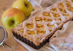 Crostata con crema pasticcera e mele
