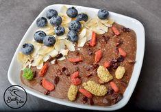 Csokis quinoakása - NAGYON JÓ Quinoa, Izu, Acai Bowl, Vegan, Breakfast, Healthy, Blog, Free, Kassel