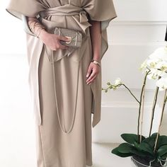IG: Silvrow || IG: Beautiifulinblack || Modern Abaya Fashion ||