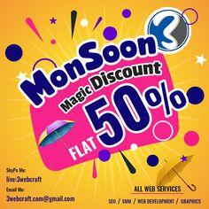 Digital Media Marketing, Digital Marketing Services, Online Marketing, Price Plan, Monsoon, Web Development, Starters, Seo, Magic