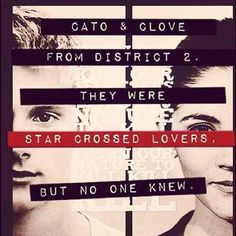 I think that it would be cute :) even if they were both kinda ruthless killers. Well Clove was my favorite (after Katniss, duh) so ya