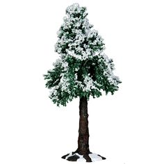 Lemax Village Collection Winter Redwood Tree -- A special product just for you. Village Lemax, Lemax Christmas Village, Christmas Villages, Villas, Blue Spruce Tree, Model Tree, Mulberry Tree, Holiday Tree, Tree Decorations