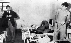 Fidel Castro y el Che Guevara compartiendo celda en México