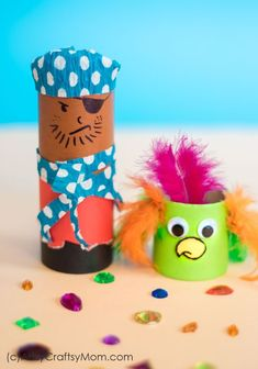 593 Best Cardboard Tube And Toilet Paper Roll Crafts For Kids Images
