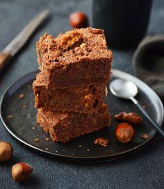 Brownie gourmand à l'Okara, sans farine ! - Soy Brownies, Biscuits, Cooking, Desserts, Food, South Beach, Zero Waste, Gluten Free Cooking, Kitchen Stuff