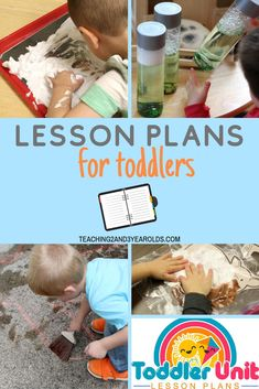 Themed Lesson Plans for Toddlers