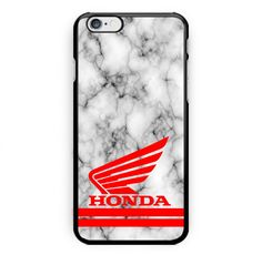 Best Honda Logo White Marble Print On Hard Plastic Case For iPhone 6/6s, 6s plus #UnbrandedGeneric
