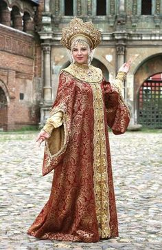 b38e119277ae4 Image result for medieval russian clothing Russian Beauty, Russian Fashion,  Robes Élégantes, Fantasy