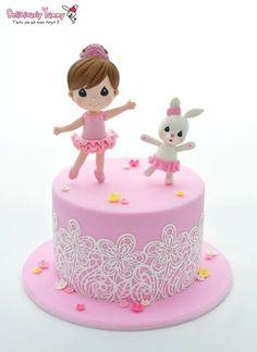 Cute Ballet cake