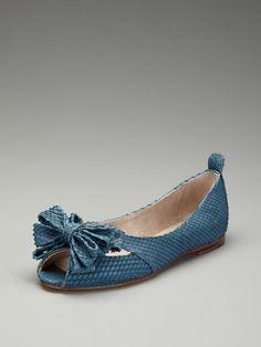 Courtney Peep-Toe Flat by Bloch on Gilt.com