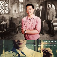 kevin tran for president. Kevin Tran, Osric Chau, Honor Student, What Team, Tv Supernatural, Winchester Boys, Good And Evil, The Brethren, Misha Collins