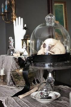 Sneak Peek Inside a Spooky Yet Sophisticated Home