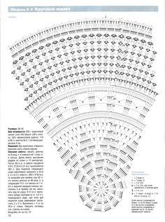 Maxi Chaleco Circular | Mi Rincon de Crochet