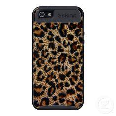 Skinit Cargo iPhone 5 Case~ Leopard Design