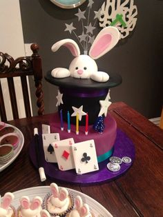 Samuels 4th magic birthday cake!