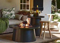 Outdoor Tables, Outdoor Decor, Go Outside, Outdoor Gardens, Fire, Outdoor Furniture, Inspiration, Home Decor, Chloe
