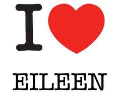 I Heart Eileen #love #heart