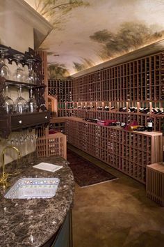 What a wine cellar!!
