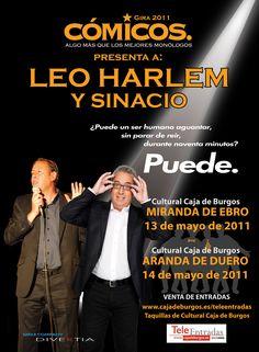 Cartel de Leo Harlem y Sinacio de la gira 2011