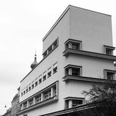 Erwin Weichmann Textile House Gliwice Poland Erich Mendelsohn 1921 1922 via adamnathanielfurman- textile, design, structure