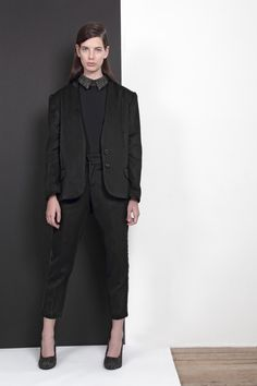 ARMANDO TAKEDA 2015-16AW LOOK23 #jacket #tops #pants #suit