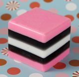 Soap Queen   Licorice Candy Soap Inspiration for coloring and scenting cp soap (link is for M & P)