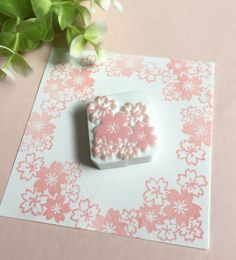 さくら満載消しゴムはんこ Eraser Stamp, Stamp Carving, Diy Resin Crafts, Handmade Stamps, Wood Stamp, Tampons, Handmade Birthday Cards, Hand Designs, Linocut Prints