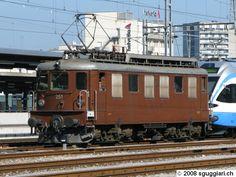 sguggiari.ch, Ae 4/4 Bienne Swiss Railways, Electric Locomotive, Bahn, Vehicles, Display Stands, Europe, Technology, Cars, Vehicle