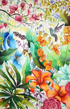 Hummingbird - Kate Morgan - Artist & Illustrator